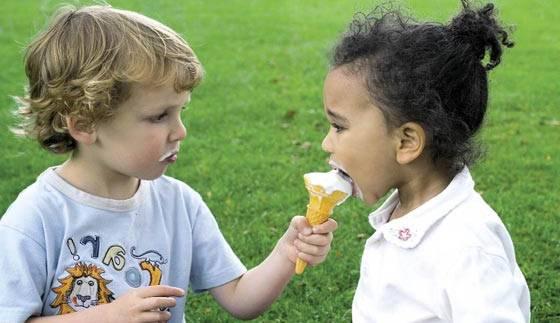 Altruismo en niños